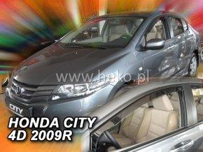 Ofuky oken Heko Honda City 4D 2008- přední