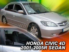 Ofuky oken Honda Civic 4D sedan 2000- přední