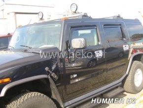 Ofuky oken Heko Hummer H2 5D přední + zadní