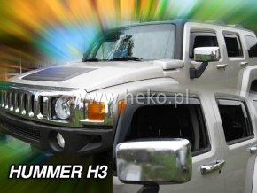 Ofuky oken Hummer H3 5D přední