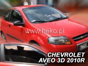 Ofuky oken Chevrolet Aveo 3D 2005- přední