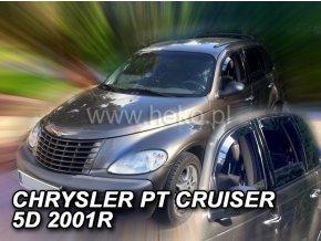 Ofuky oken Heko Chrysler PT Cruiser 5D 2001- přední