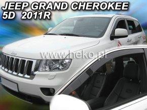Ofuky oken Jeep Grand Cherokee 5D 2011- přední