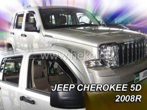 Ofuky oken Jeep Cherokee 5D 2008- přední