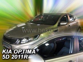 Ofuky oken Kia Optima 5D 2011- přední