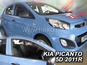 Ofuky oken Kia Picanto 5D 2011- přední
