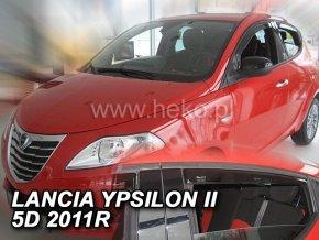 Ofuky oken Heko Lancia Ypsilon II 5D 2011- přední + zadní