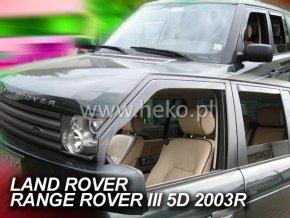 Ofuky oken Land Rover Range Rover III 5D 2002- přední