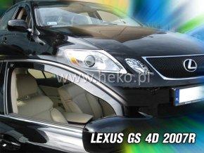 Ofuky oken Lexus GS 4D 2007- přední
