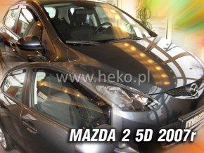 Ofuky oken Mazda 2 2007-2009 přední