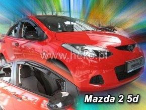 Ofuky oken Mazda 2 5D 2009- přední