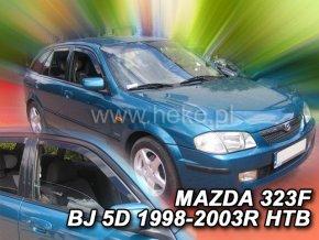 Ofuky oken Heko Mazda 323 BJ 4D 1998- sedan přední