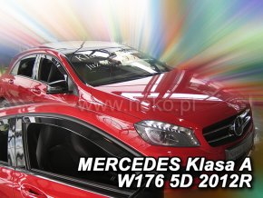 Ofuky oken Heko Mercedes A W176 5D 2012- přední