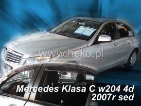 Ofuky oken Heko Mercedes C W204 4D 2007- přední
