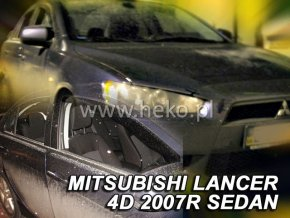 Ofuky oken Heko Mitsubishi Lancer 5D 2007- přední