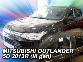 Ofuky oken Mitsubishi Outlander 5D 2013- přední + zadní