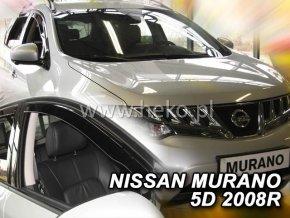 Ofuky oken Nissan Murano 5D 2008- přední