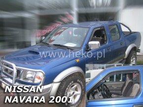 Ofuky oken Heko Nissan Navara Pickup 4D 2001-2005 přední