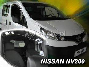 Ofuky oken Heko Nissan NV 200 2D 2010- přední