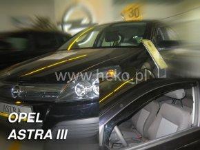 Ofuky oken Heko Opel Astra III H 5D 2004- přední