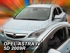 Ofuky oken Opel Astra IV 2009- přední
