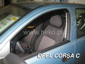Ofuky oken Opel Corsa C 5D 2000-2006 přední