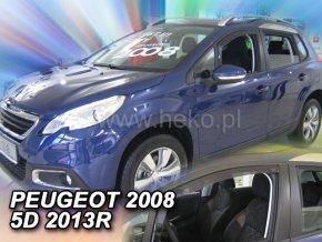 Ofuky oken Heko Peugeot 2008 5D 2013- přední