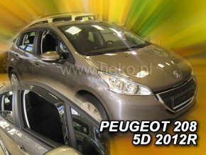 Ofuky oken Heko Peugeot 208 5D 2012- přední