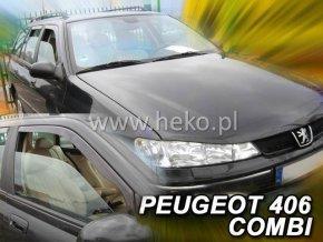 Ofuky oken Heko Peugeot 406 1996- přední