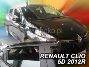 Ofuky oken Renault Clio IV 5D 2012- přední + zadní