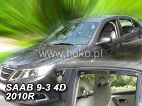 Ofuky oken Saab 93 2002- přední + zadní