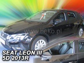 Ofuky oken Heko Seat Leon 5D 2013- přední