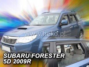 Ofuky oken Heko Subaru Forester SH 5D 2009- přední + zadní