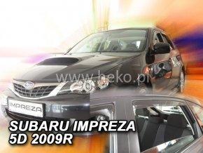 Ofuky oken Heko Subaru Impreza GH 5D 2008- přední + zadní