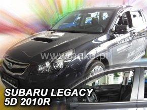 Ofuky oken Heko Subaru Legacy 5D 2010- přední + zadní