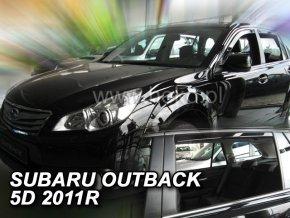 Ofuky oken Heko Subaru Outback 5D 2011- přední + zadní