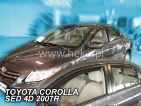 Ofuky oken Heko Toyota Corolla 4D 2007- přední