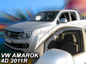 Ofuky oken VW Amarok 4D 2011- přední