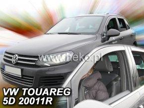 Ofuky oken Heko Volkswagen Touareg 5D 2010- přední