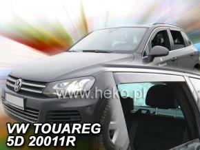Ofuky oken VW Touareg 5D 2010- přední + zadní