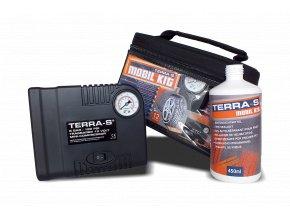 Opravná sada na pneu Terra - Mobil Kit 450ml