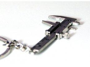 Přívěsek na klíče - posuvné měřidlo / šuplera