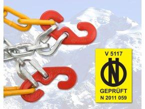 Sněhové řetězy 135/70 R15 Compass X30