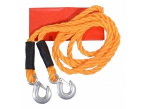 Tažné lano 3t s karabinami
