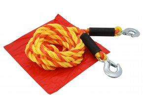 Tažné lano 5t s karabinami