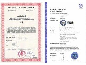 Textilní sněhové řetězy 145/80 R13 Autosock 540
