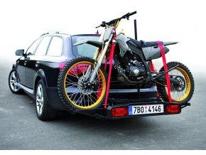 Nosič na motorku HAKR na kouli tažného zařízení