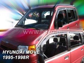 Ofuky oken Daihatsu Move 5D 1995-1998 přední + zadní