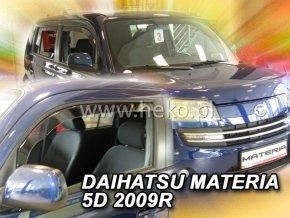 Ofuky oken Daihatsu Materia 5D 2006- přední