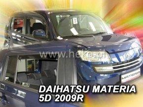 Ofuky oken Daihatsu Materia 5D 2006- přední + zadní